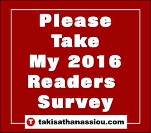 Please Take My 2016 Readers Survey