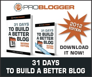 Click here to view more details, 31 Days to Build a Better Blog, blogging, content development, editorial callendar, book, learning