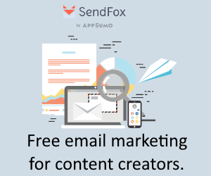 Free email marketing for content creators